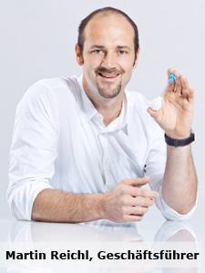 Martin Reichl, Geschäftsführer der  earshower GmbH