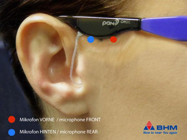 Clevere Mikrofonausrichtung bei pan Hörsystemen