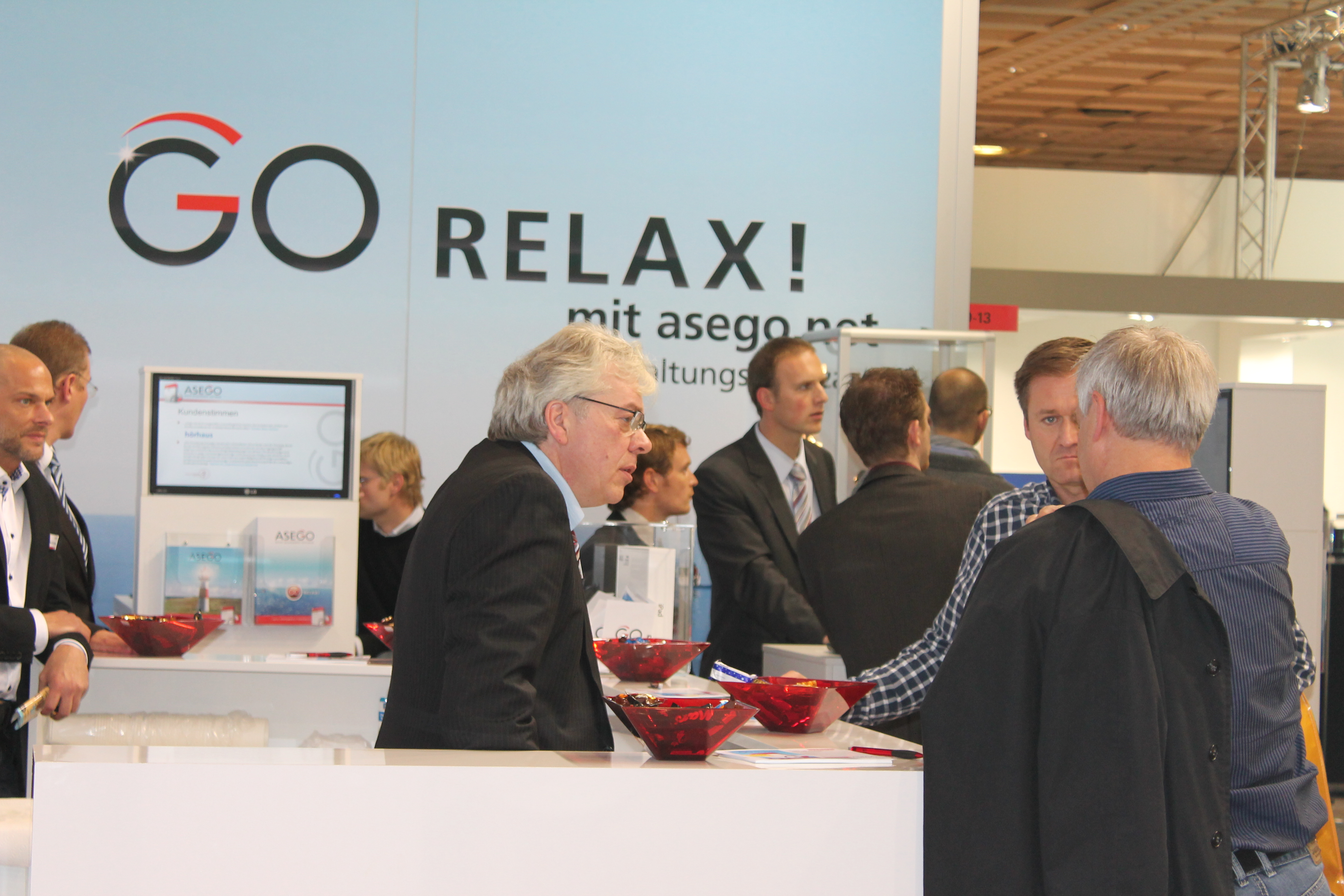 Asego Messestand