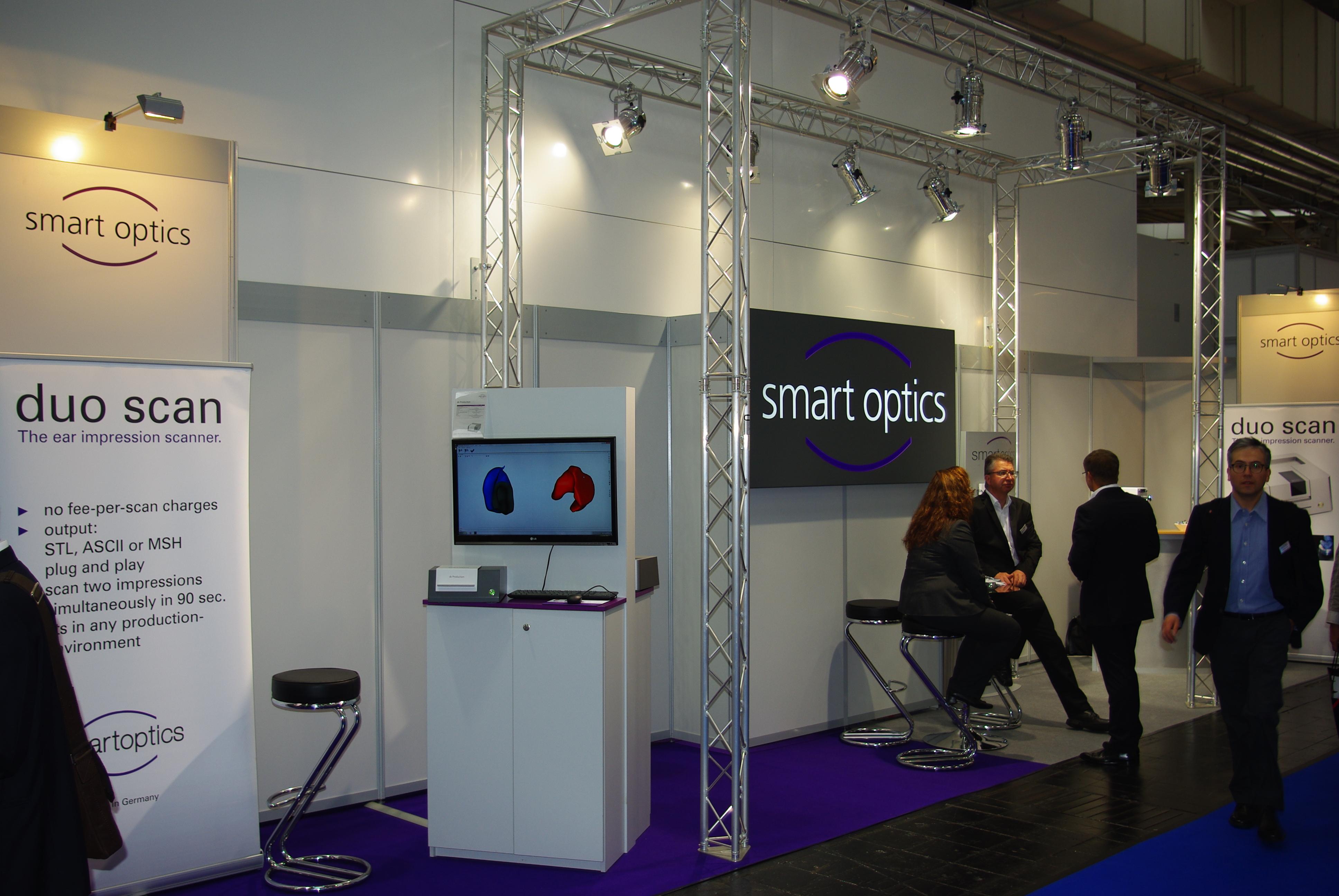 Smartoptics Messestand