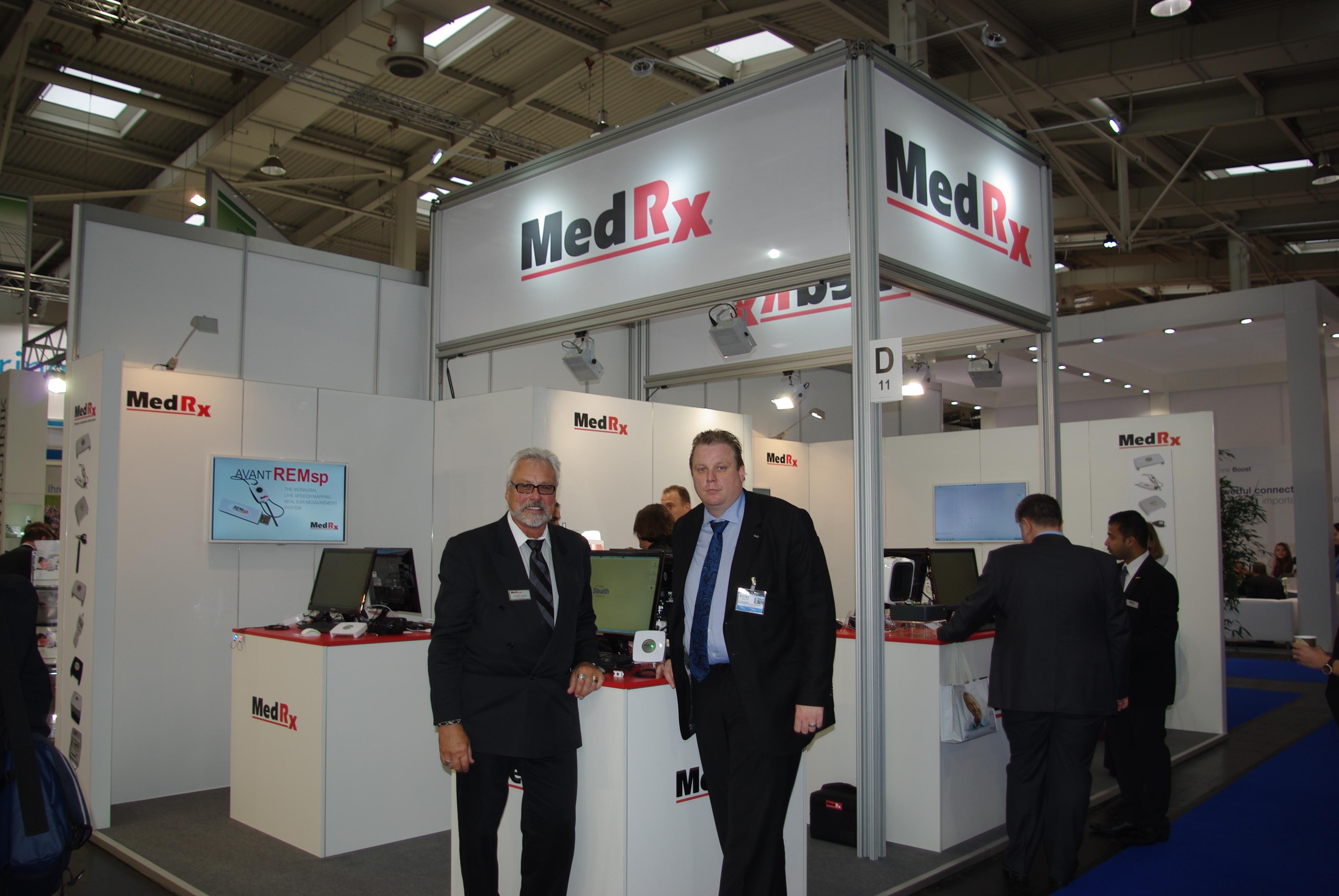 MedRex Messestand