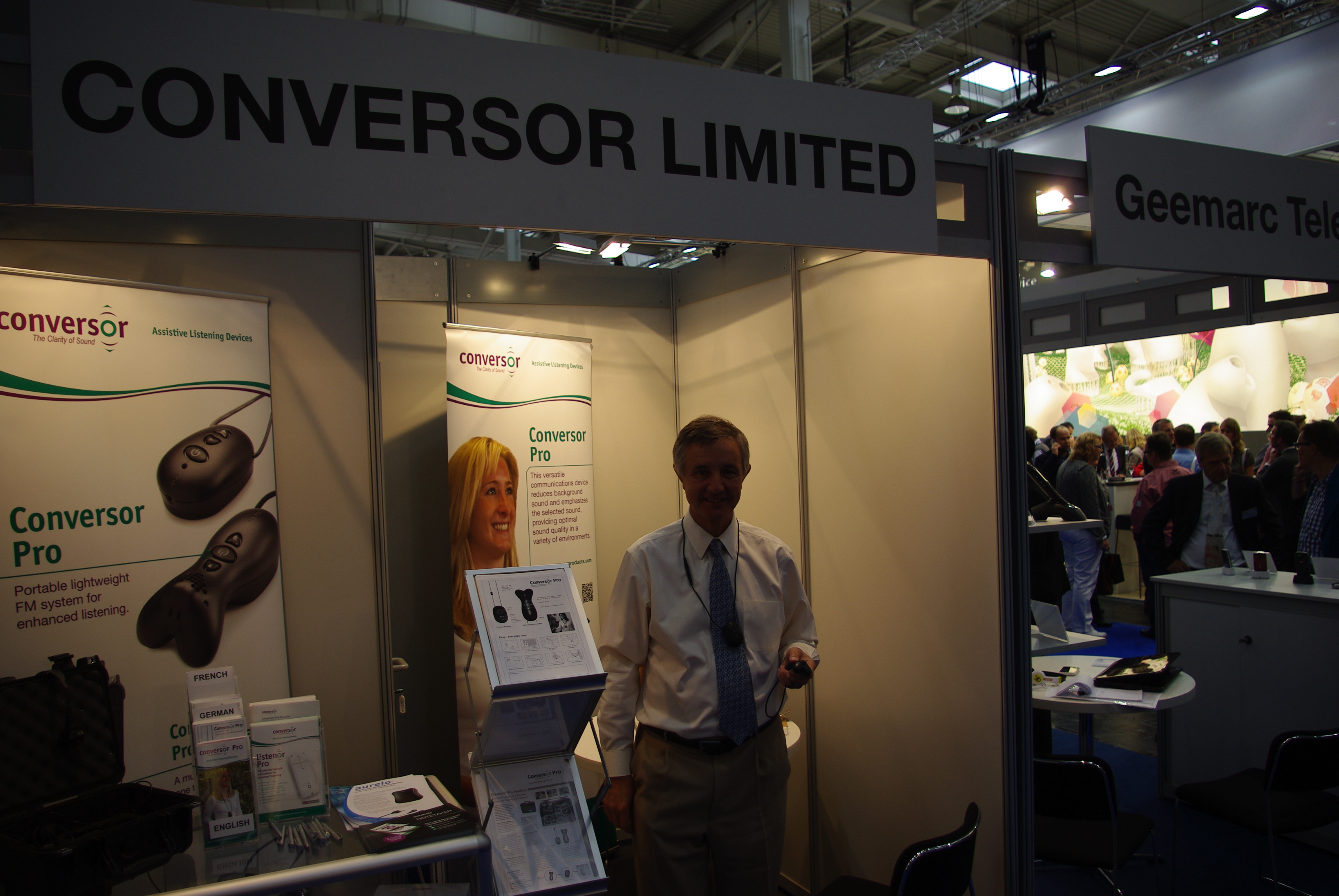 Conversor Messestand
