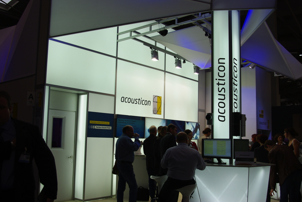Acousticon Messestand