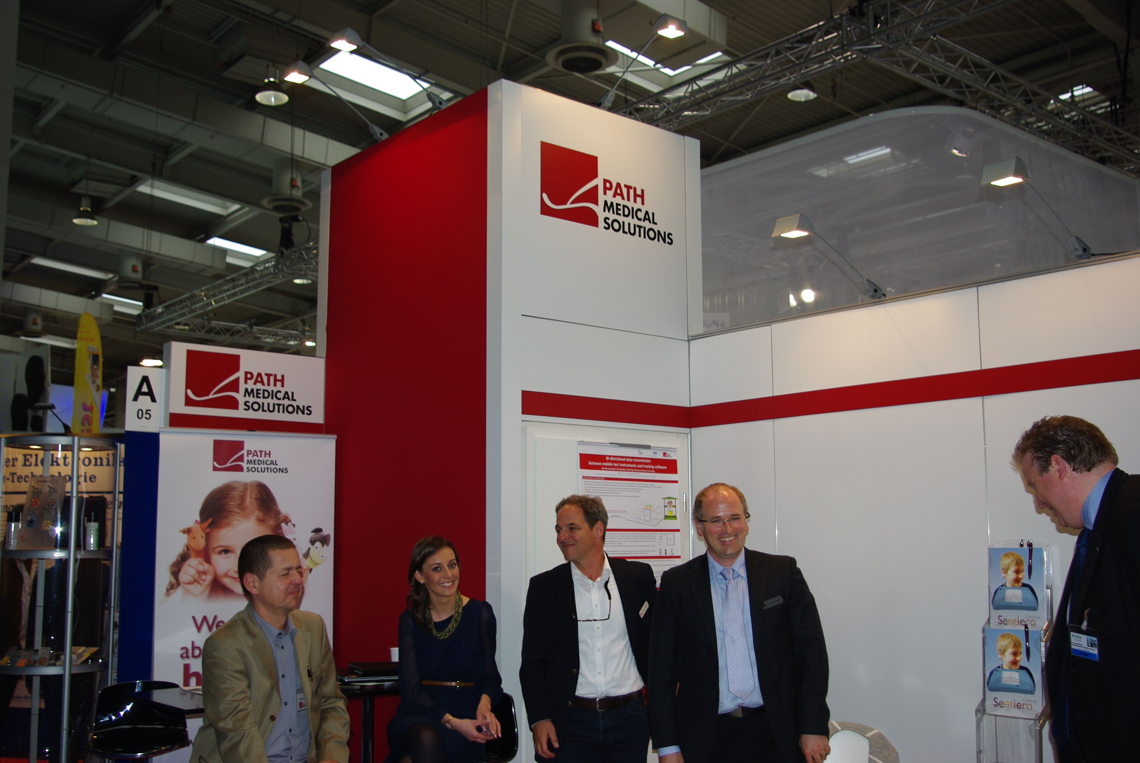 Pathmedical Messestand