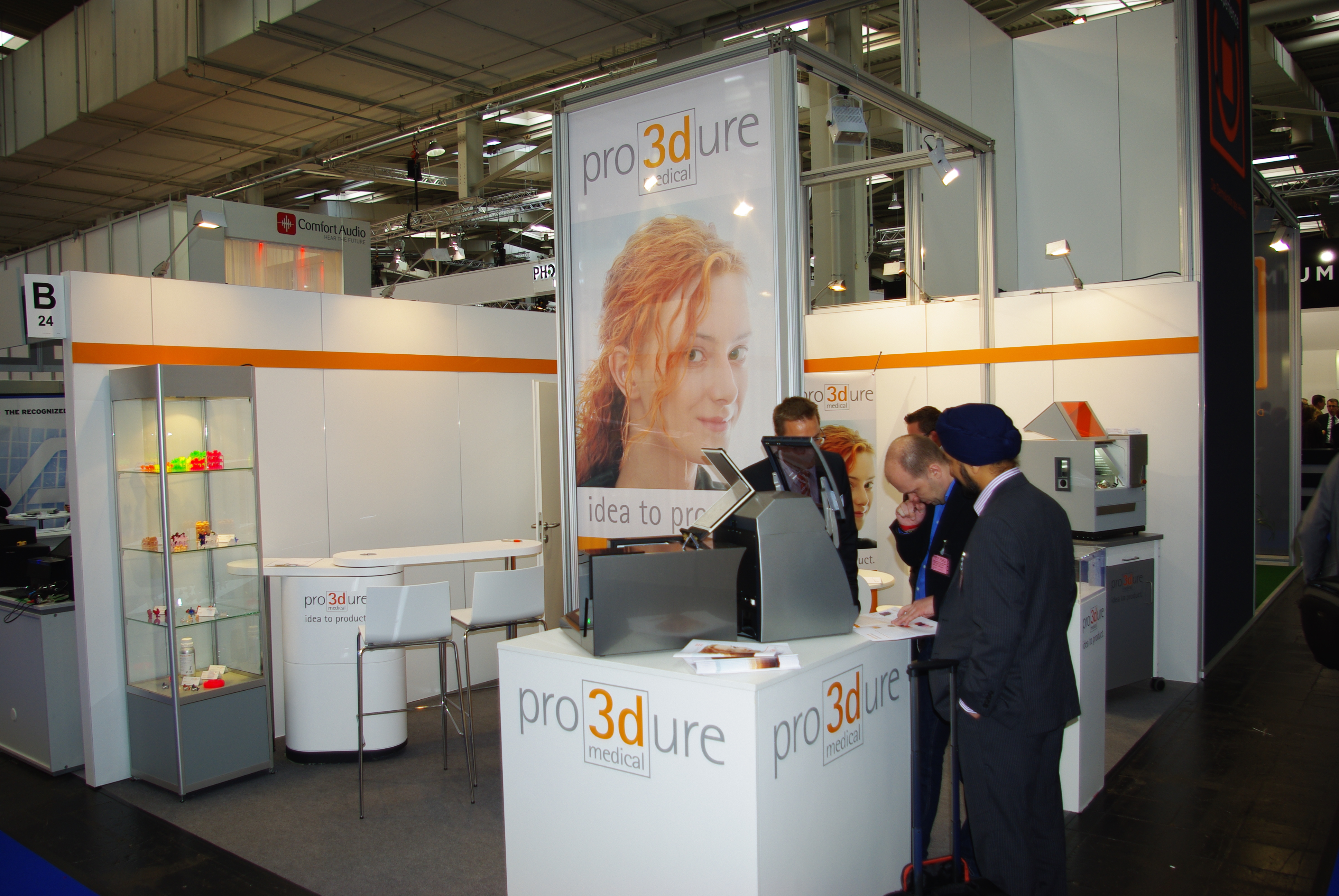 pro3duremedical Messestand