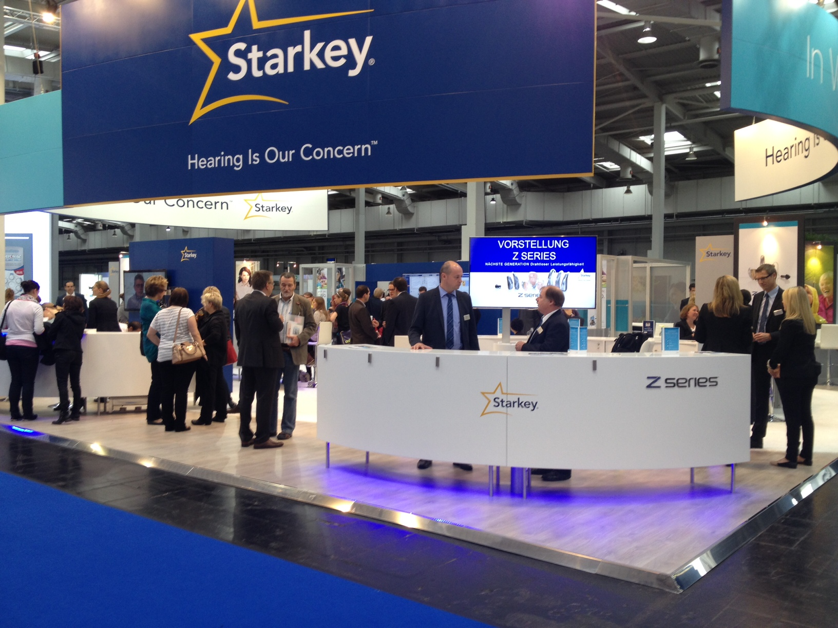 Messestand Starkey