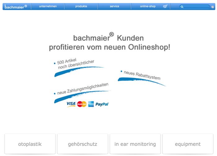 bachmaier online Shop