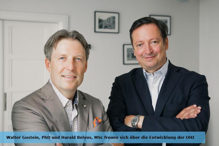 Walter Gutstein, PhD und Harald Belyus, MSc