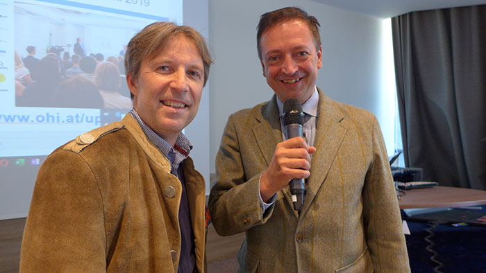 VHÖ Tagung Salzburg – Walter Gutstein und Harald Belyus (OHI)