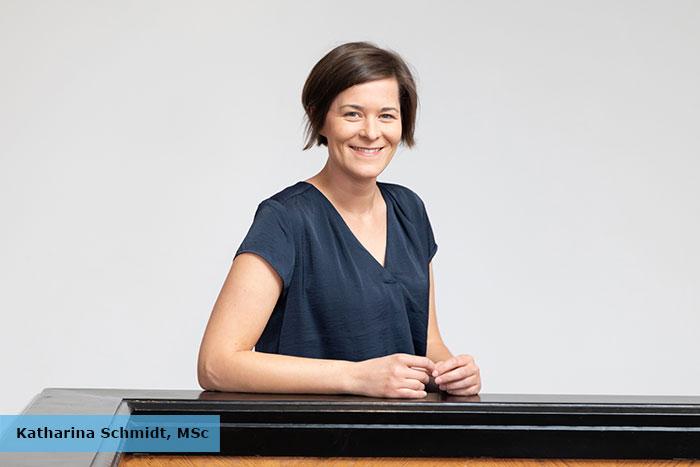"""In Ihrem Vortrag """"Räumliche Wahrnehmung im Grundschulalter"""" berichtete Katharina Schmidt, MSc über ihr Forschungsprojekt """"ERKI"""" – Erfassung des Richtungshörens bei Kindern."""