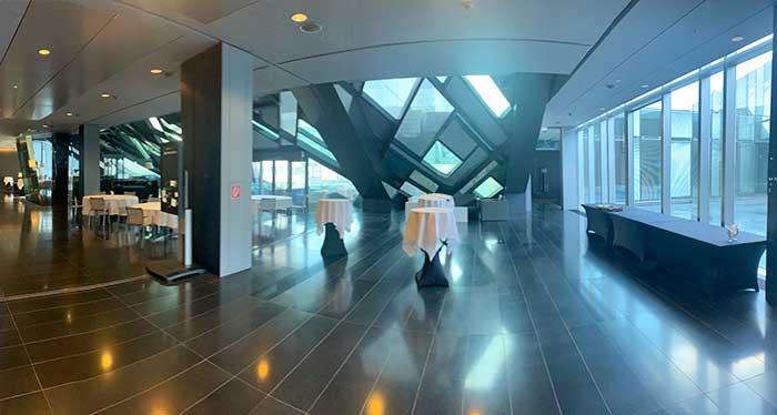 Über 400m2Industrieausstellung beim OHI UODATE 2020 am 4th floor im SO/Vienna