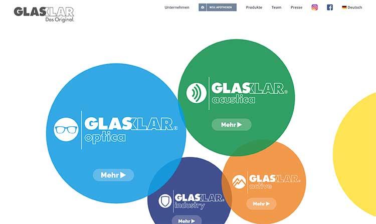 GLASKLAR Website