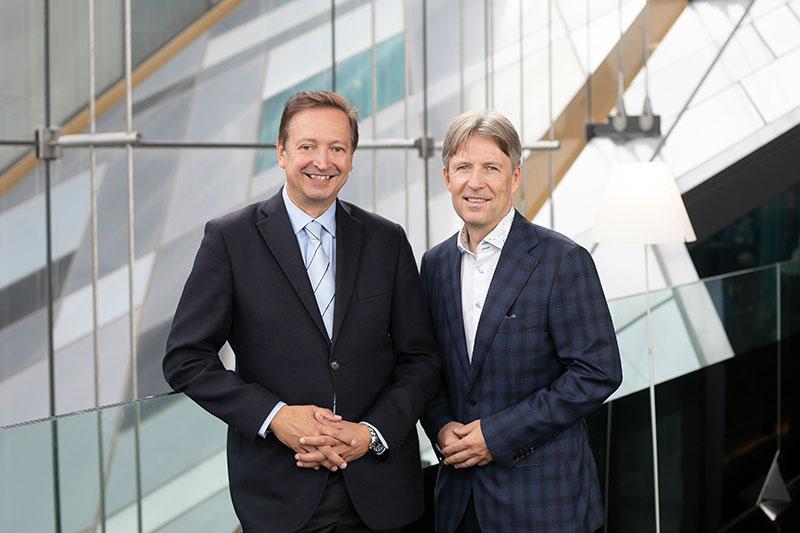 Harald Belyus und Walter Gutstein