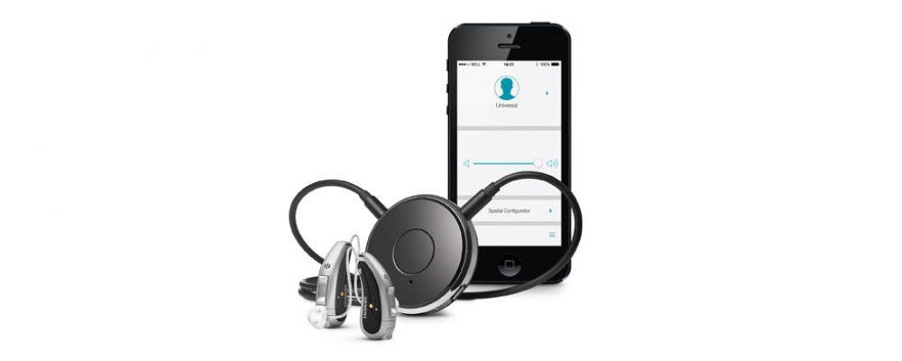 Diskrete Fernbedienung mit intelligenter Ein-Knopf-Steuerung und clevere Steuerungs-App