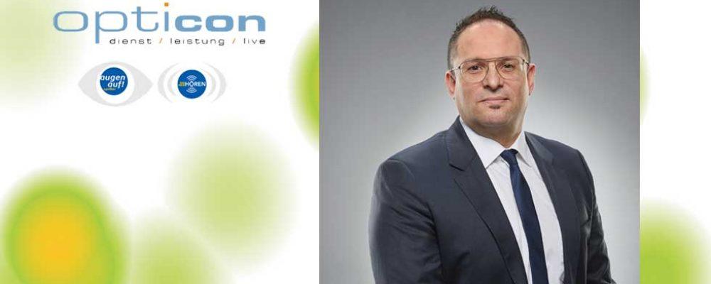Neuer Geschäftsführer bei OPTICON Handels GmbH