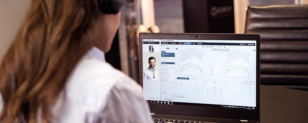 Das Widex-Online-Angebot für Hörakustiker