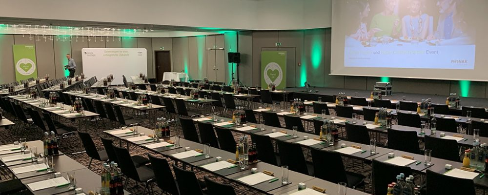 Phonak: 1. Green Partner und Roger Certified Partner Day 2019