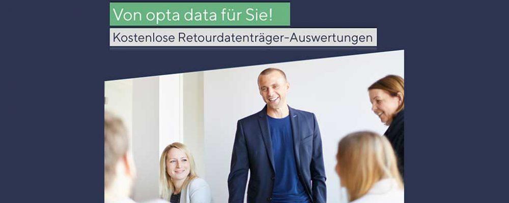 ELDA-Retourdatenträger-Auswertung durch opta data