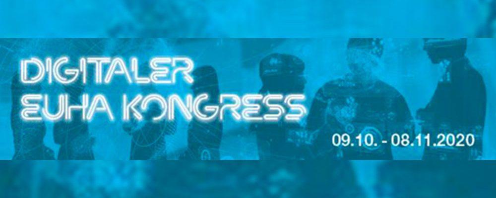 Digitaler EUHA-Kongress 2020 startet am 09. Oktober 2020