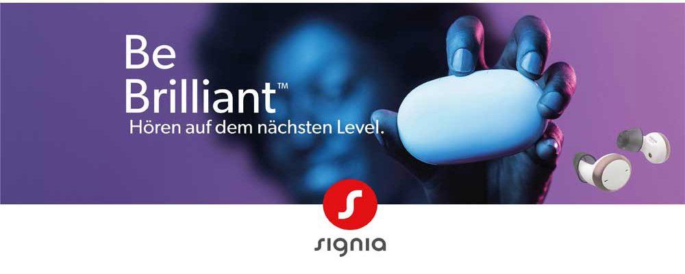 Signia revolutioniert Design von Hörgeräten: Hörgeräte sehen aus wie Hearables.