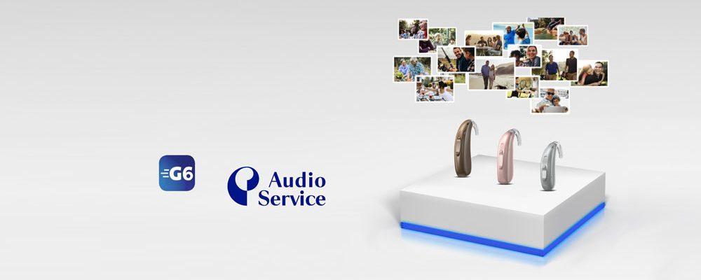 Neue Lithium-Ionen-Akku G6 Hörsysteme von Audio Service