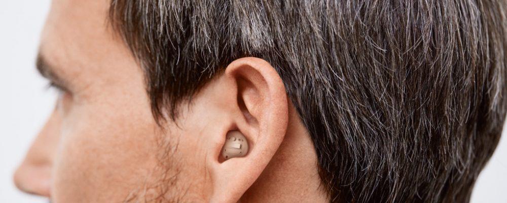 Signia Im-Ohr-Hörgeräte mit Bluetooth-Konnektivität
