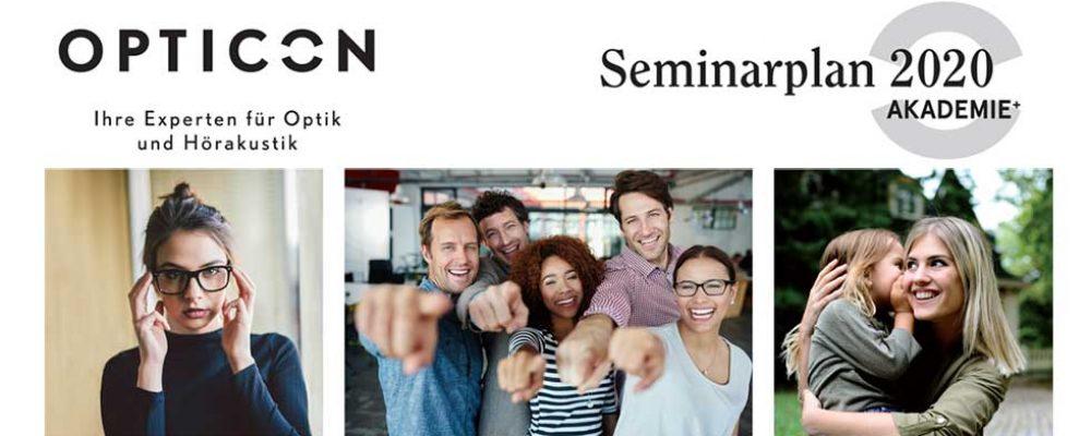Neuer Opticon Seminarplan: erstes Halbjahr 2020