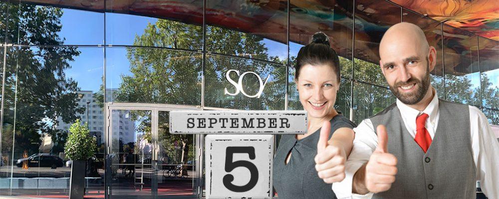 CoVID-19: OHI UPDATE 2020 auf Samstag, den 5.September verschoben