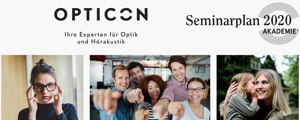Neuer Opticon Seminarplan: zweites Halbjahr 2020